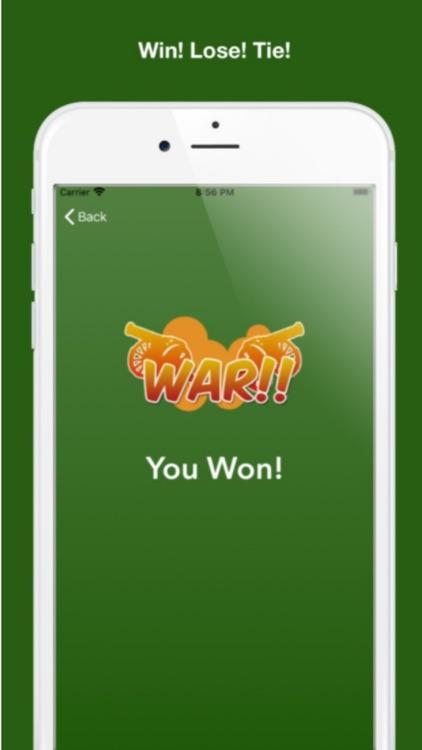 The Card Game: War screenshot-3