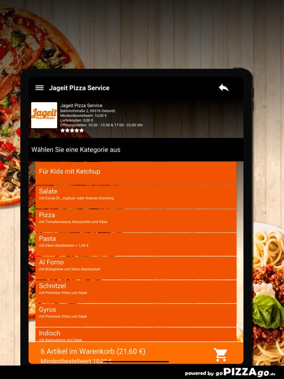 Jageit Pizza Service Oelsnitz screenshot 8