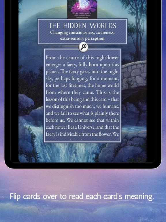 Ipad Screen Shot Oracle of the Hidden Worlds 7