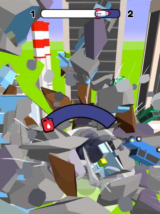Blast City 3D, game for IOS