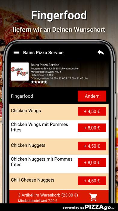 Bains Pizza Schwabmünchen screenshot 6