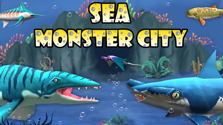 Sea Monster City - Battle Game