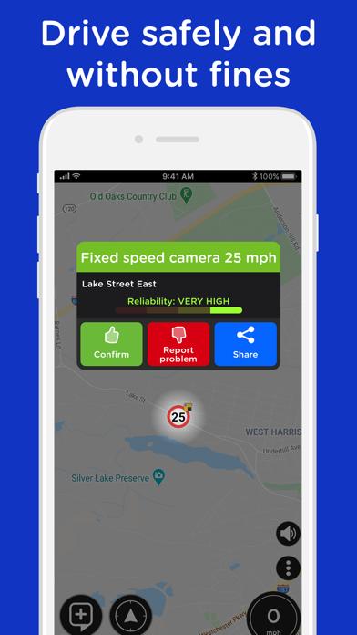 Radarbot: Speedcams Detector Screenshot