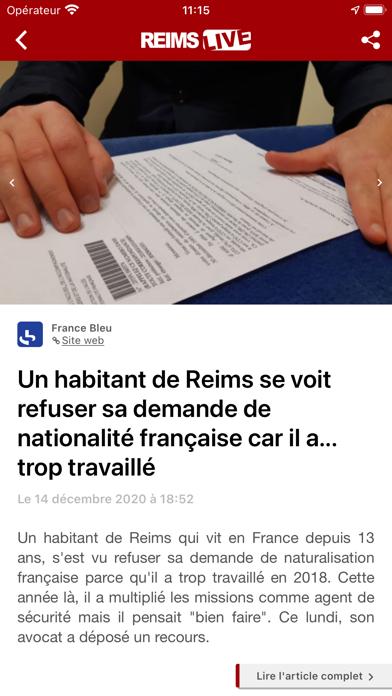 Reims Live : Actu & Sport screenshot 3