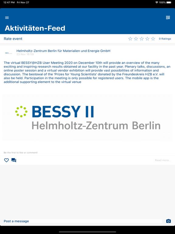 BESSY@HZB User Meeting 2020 screenshot 9