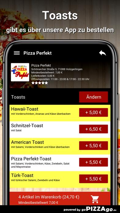 Pizza Perfekt Holzgerlingen screenshot 6