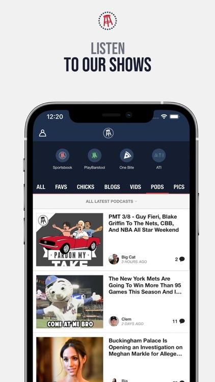 Barstool Sports screenshot-3
