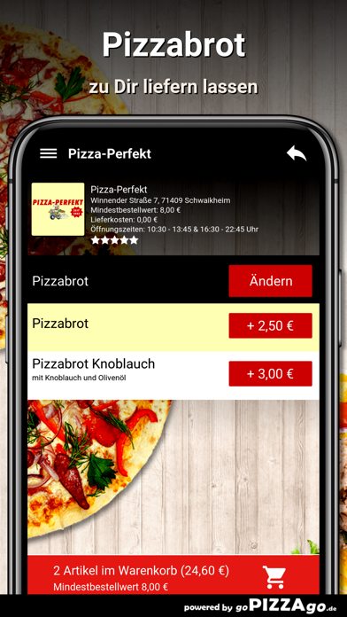 Pizza-Perfekt Schwaikheim screenshot 5