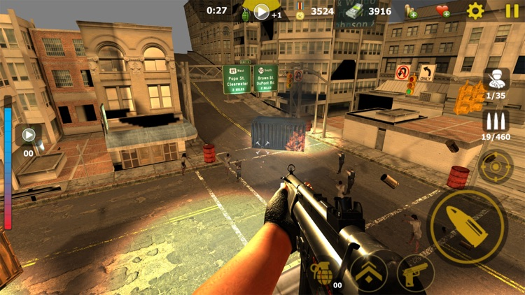 Call Of Mini: Zombie Games screenshot-4