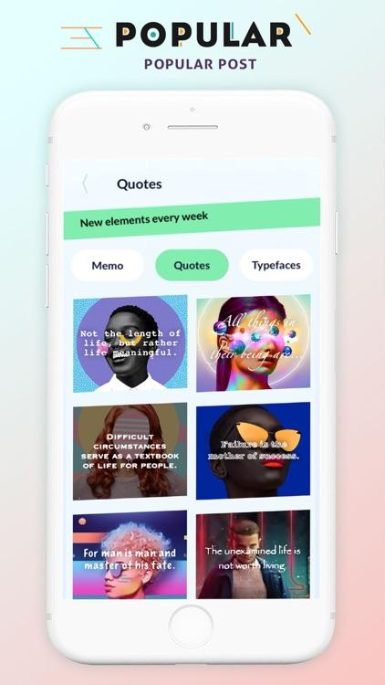 Top Likes Moments - Post Maker screenshot-3