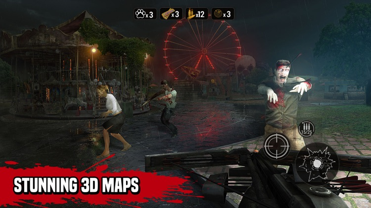 Zombie Hunter: Sniper Games screenshot-3