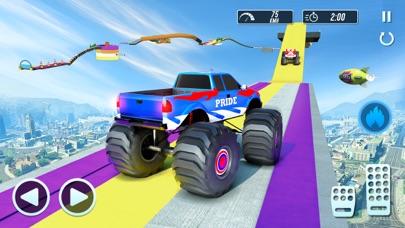 Mega Jump Car Driving & Racingのおすすめ画像3