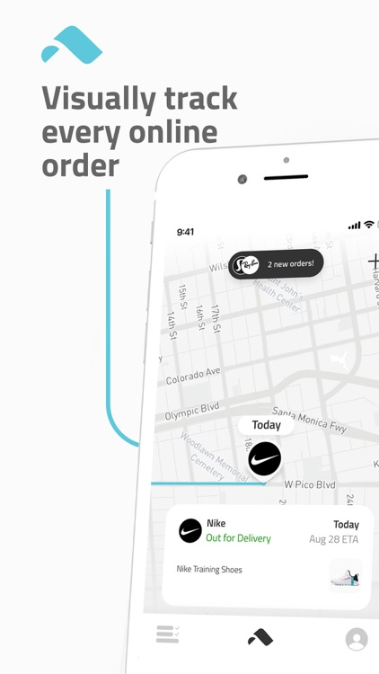 Route: Order & Package Tracker