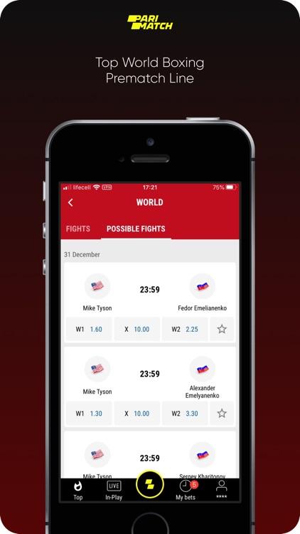 Parimatch: Sports Betting screenshot-4