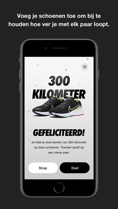 Nike Run Club iPhone app afbeelding 5