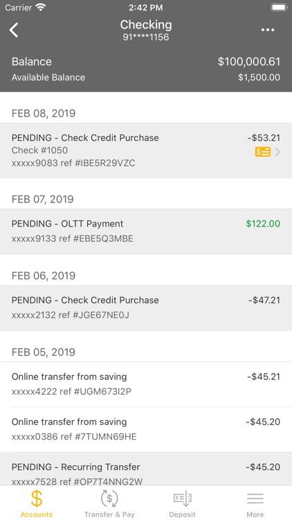 Freedom Bank Mobile Banking screenshot-3