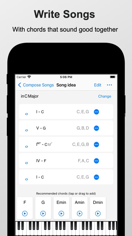 Piano Chords and Scales Pro screenshot-5