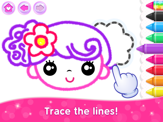 Kids Drawing Games for Girls 6 screenshot