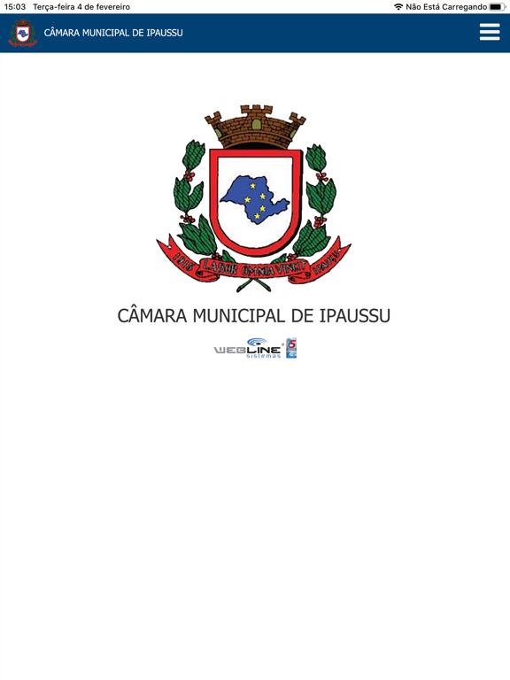 Câmara Municipal de Ipaussu screenshot 6