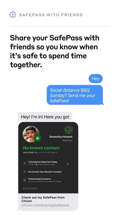 Citizen SafePass screenshot-4