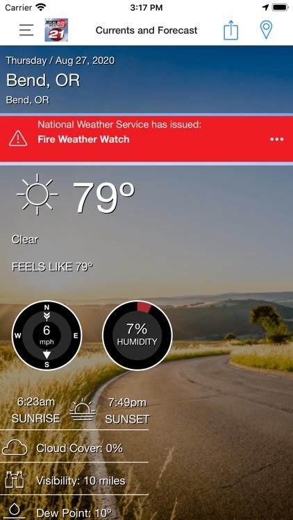 KTVZ Local Alert Weather App screenshot-5