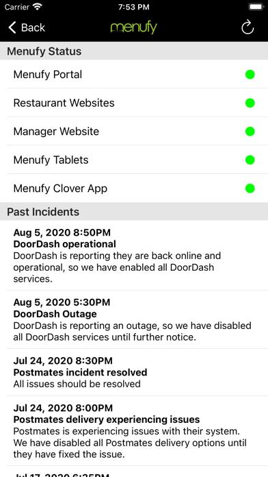 Menufy Business ManagerScreenshot of 2