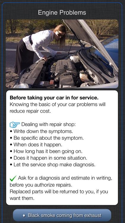 Cadillac Warning Lights Info screenshot-9