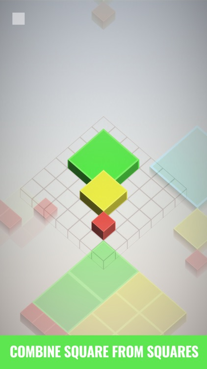 Isometric Squares - puzzle ² screenshot-0
