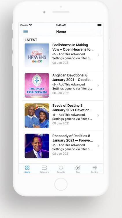 Open Heaven Daily Devotional screenshot-5