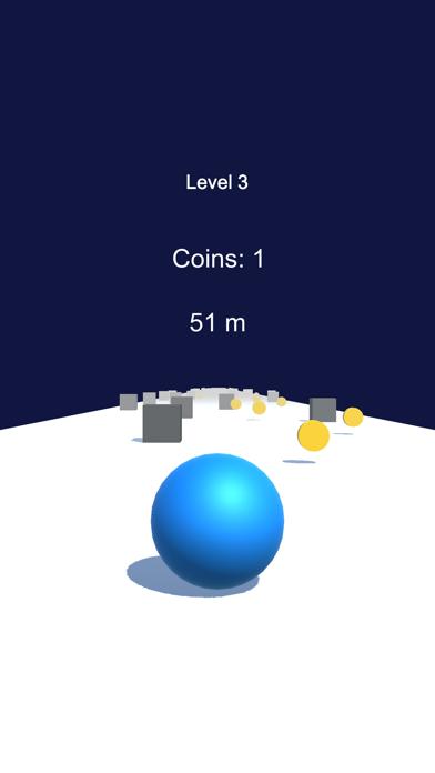 Crazy Ball Dash 3D screenshot 1