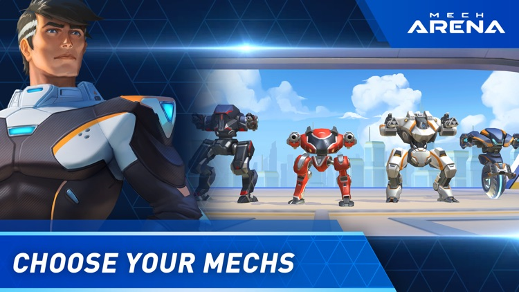 Mech Arena: Robot Showdown screenshot-0