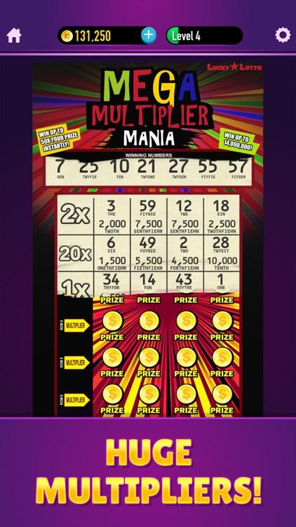 Lucky Lotto - Mega Scratchers screenshot-4