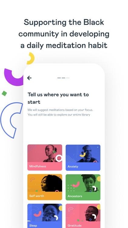 Liberate: Black Meditation App