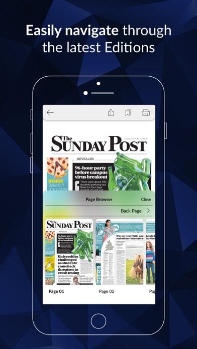 The Sunday Post ePaperScreenshot of 2