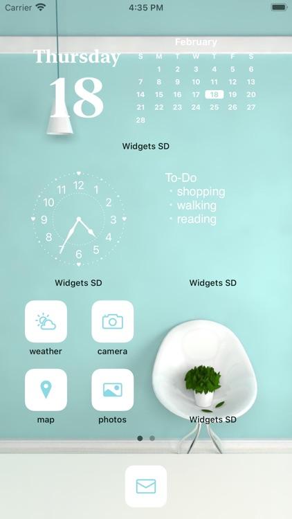 Widgets SD - Photo & Calendar