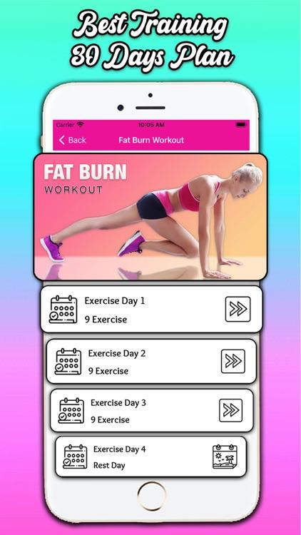 Fat Burning Workout at Home screenshot-3