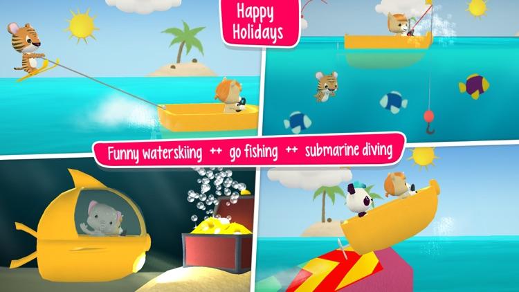 Little Tiger: Firefighter Kids screenshot-3