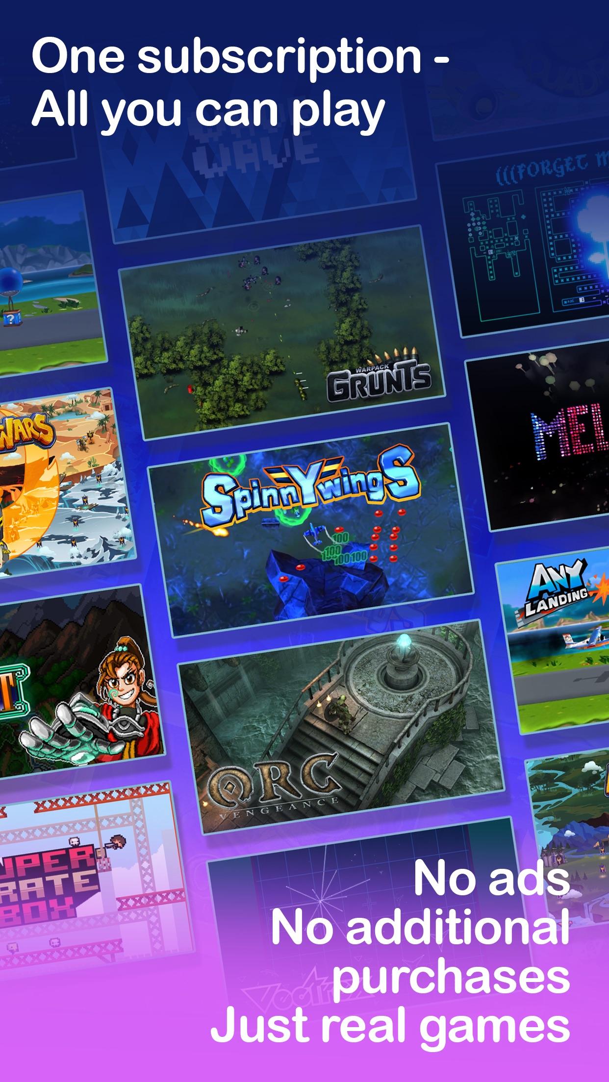 Screenshot do app GameClub - a new way to play!
