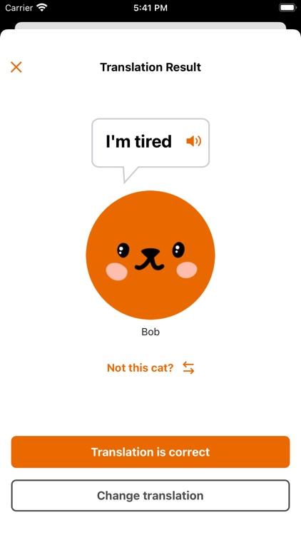 MeowTalk Cat Translator