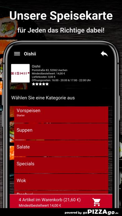 Oishii Aachen screenshot 4