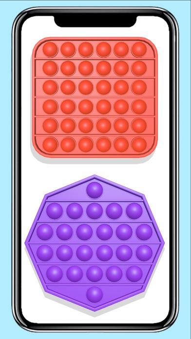 Pop it fidget toy calming Gameのおすすめ画像2