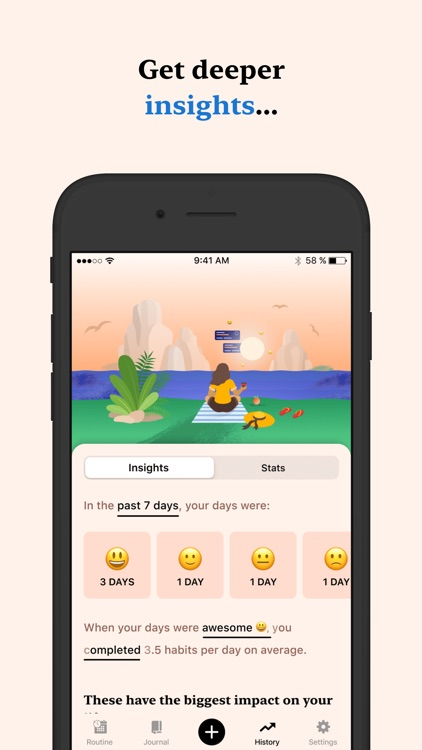 Tangerine: Self-care & Goals screenshot-7