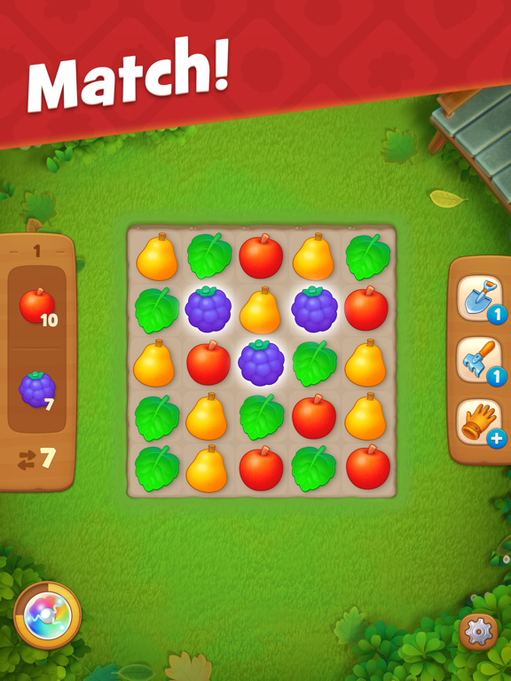 iPad Image of Gardenscapes