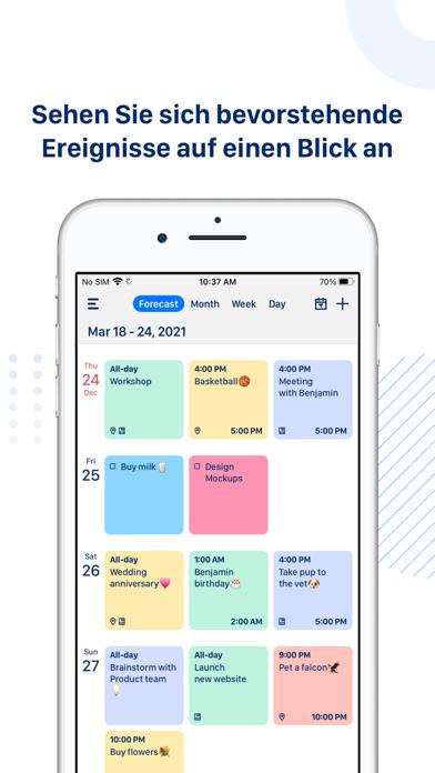 Calendar App: Tasks & CalendarScreenshot von 3