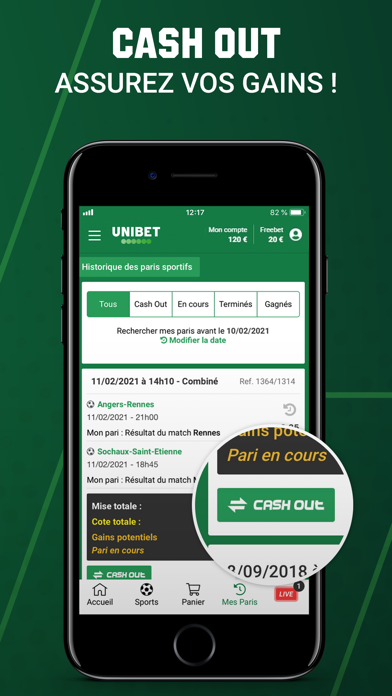 messages.download Unibet Paris Sportifs software