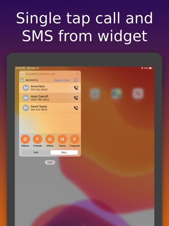 Quick Call -Single Tap Action Screenshots