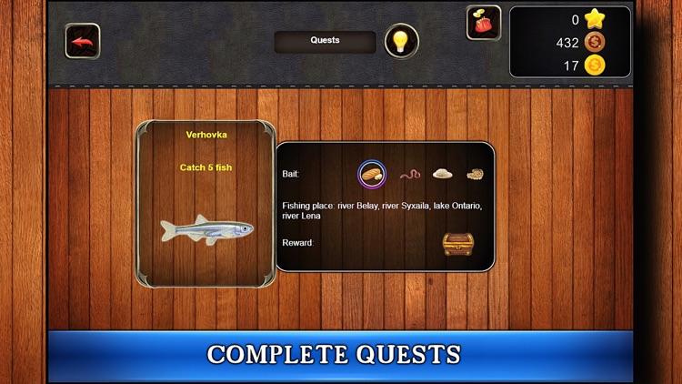 Fish Rain: Sport Fishing Games screenshot-5