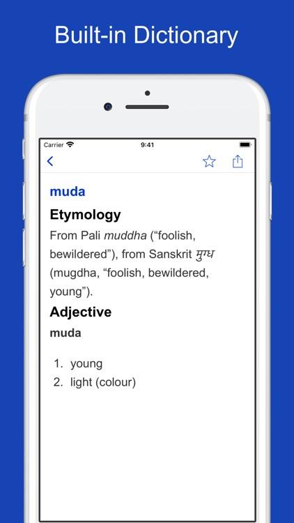 Malay Origin Dictionary screenshot-5