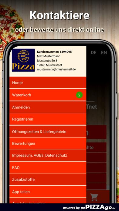 Euro Pizza Service Köln screenshot 3