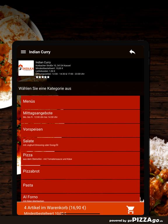 Indian Curry Kassel screenshot 8